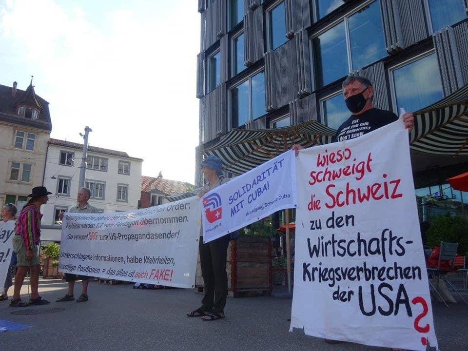 Aktionstag in der Schweiz