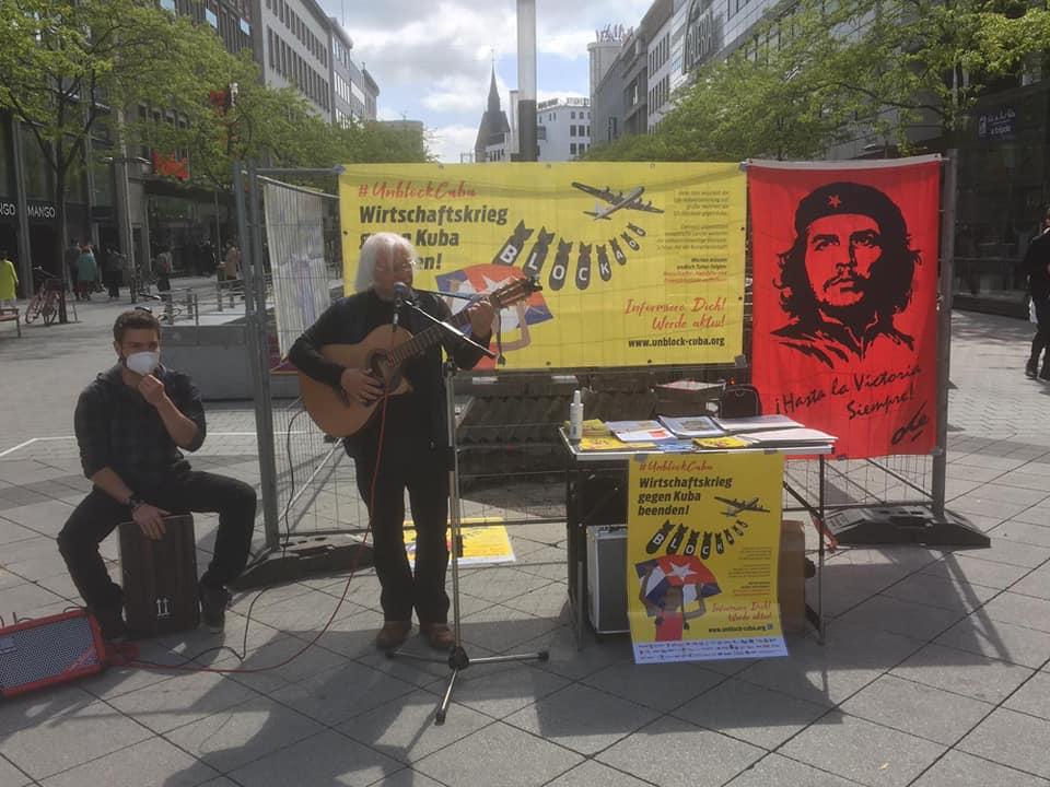 UnblockCuba-Aktion in Hannover